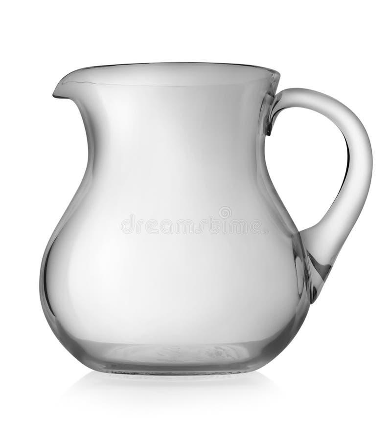 De waterkruik van het glas royalty-vrije stock foto