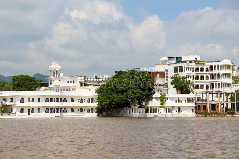 De waterstad: udaipur royalty-vrije stock foto's