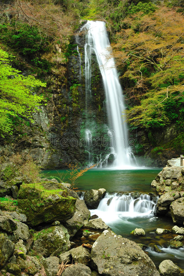 De Waterval Osaka Japan van Minoo royalty-vrije stock fotografie