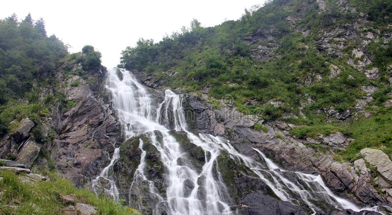 De waterval van Balea royalty-vrije stock foto's