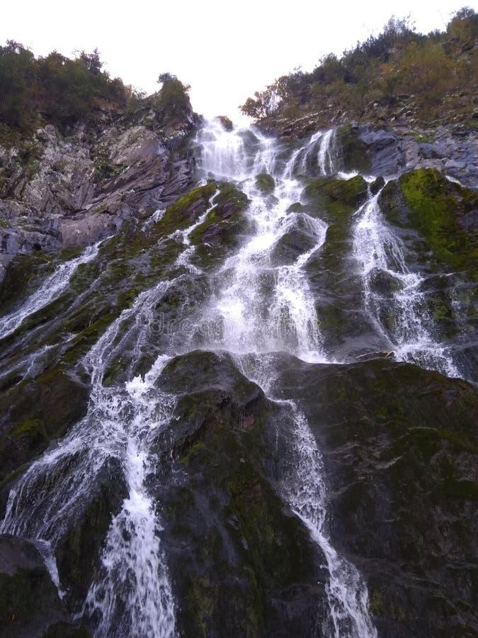 De waterval van Balea royalty-vrije stock afbeelding