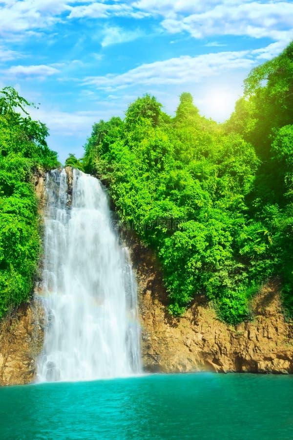 De waterval van Bobla