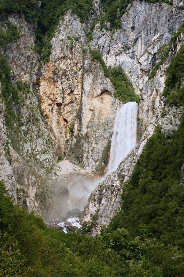 De waterval van Boka stock foto