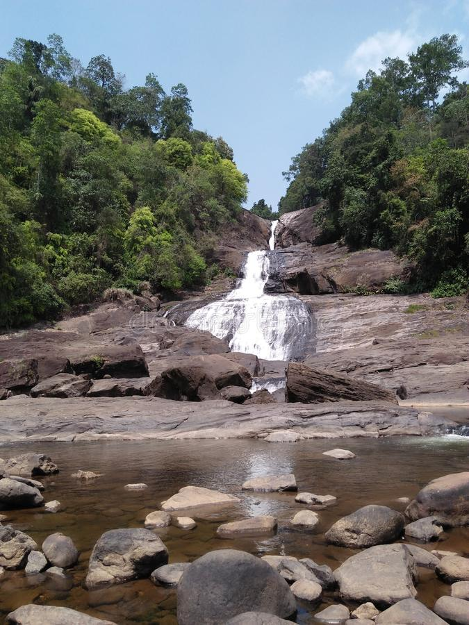 De Waterval van Bopathella stock foto