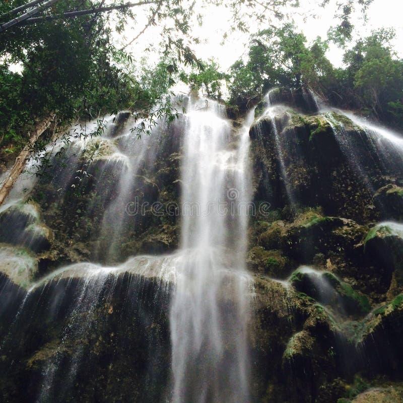 De Waterval van Cebu stock foto