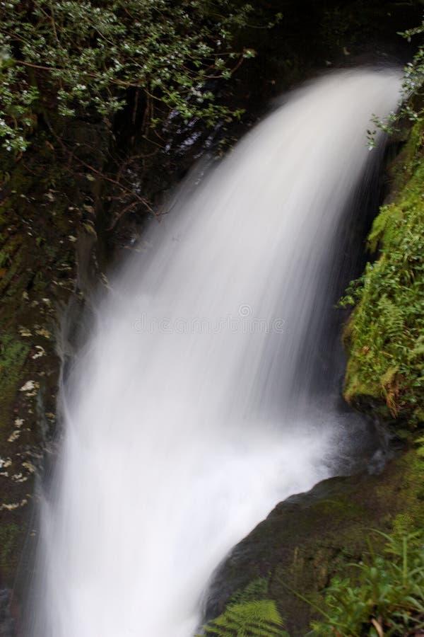 De waterval van de boog stock foto