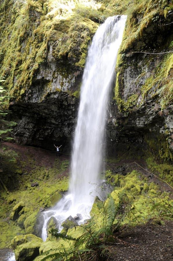 De waterval van de cascadeberg royalty-vrije stock foto