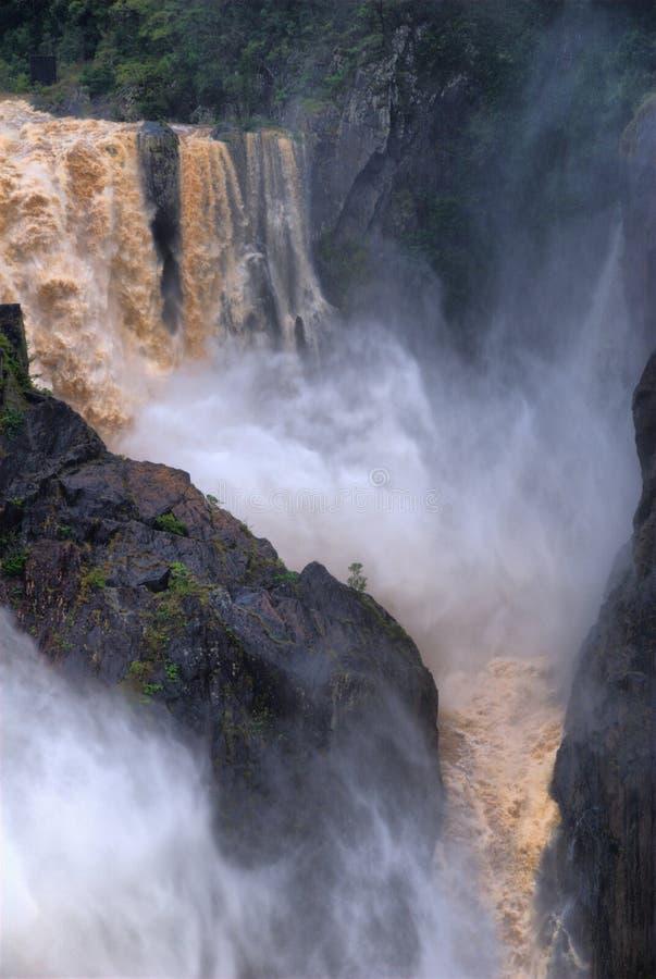 De Waterval van de Kloof van Barron stock afbeeldingen