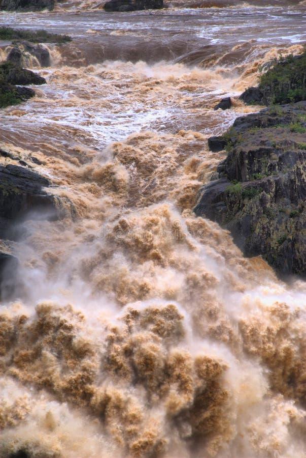 De Waterval van de Kloof van Barron royalty-vrije stock afbeelding