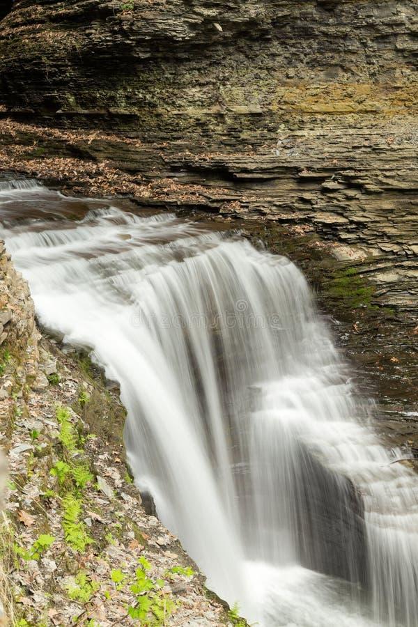 De Waterval van de Nauwe vallei van Watkins royalty-vrije stock foto's