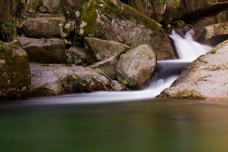 De waterval van de rivier stock foto's