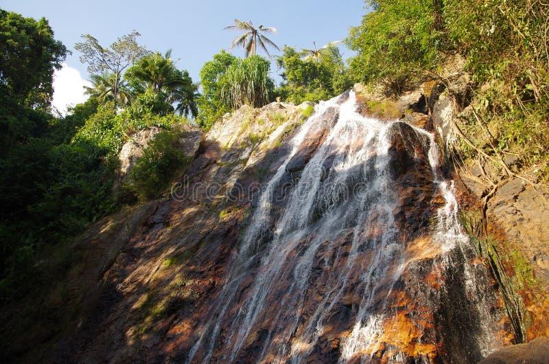 De waterval van de wildernis royalty-vrije stock fotografie