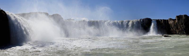 De Waterval van Godafoss, IJsland stock fotografie