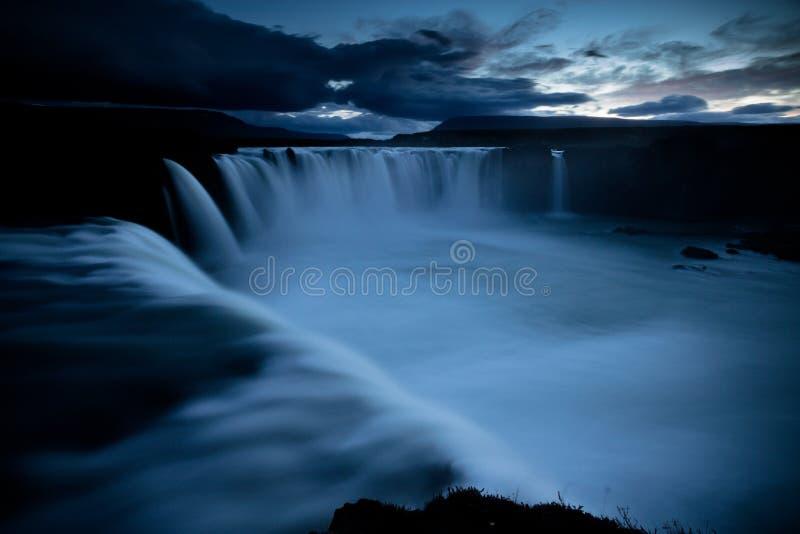 De waterval van Godfoss stock foto's
