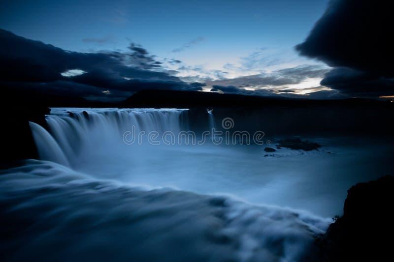 De waterval van Godfoss royalty-vrije stock foto