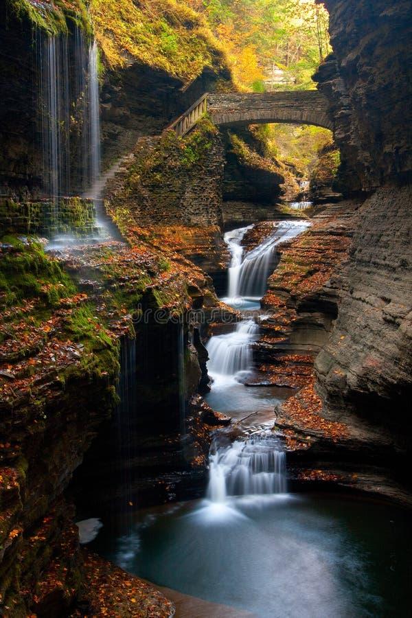 De waterval van het dromenland stock afbeelding