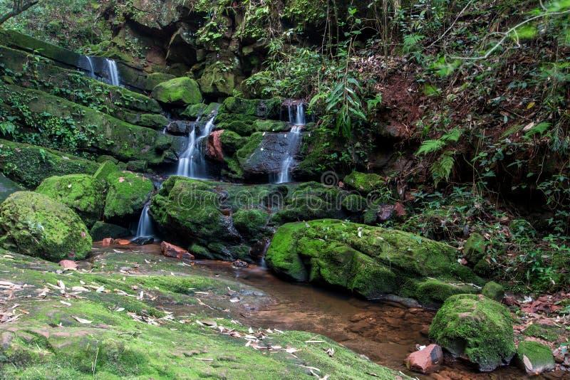 De waterval van Mae Khamin van Huay, Thailand stock fotografie