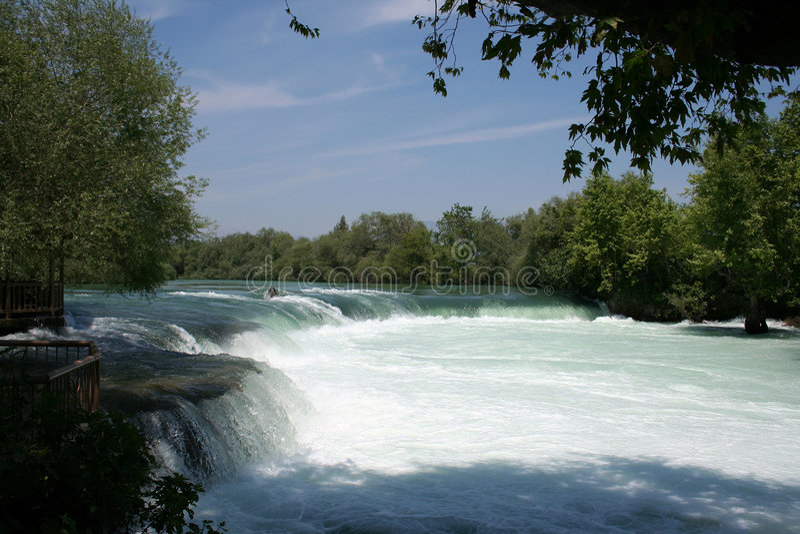 De Waterval van Manavgat stock afbeeldingen