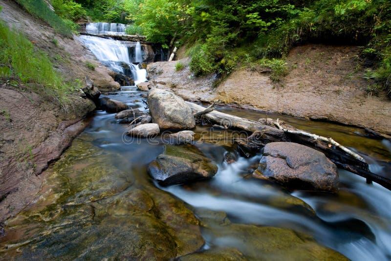 De Waterval van Michigan stock afbeelding
