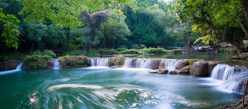 De Waterval van Noi van Sao van Chet stock afbeeldingen