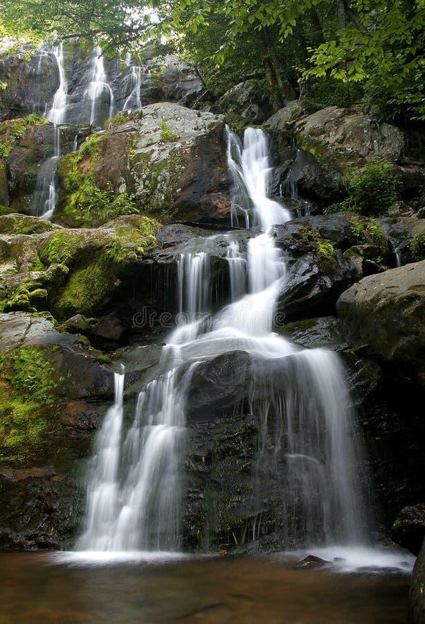 De waterval van Shenandoah stock afbeeldingen
