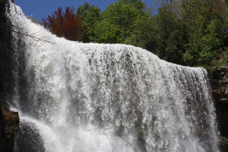 De waterval van Webster royalty-vrije stock afbeeldingen