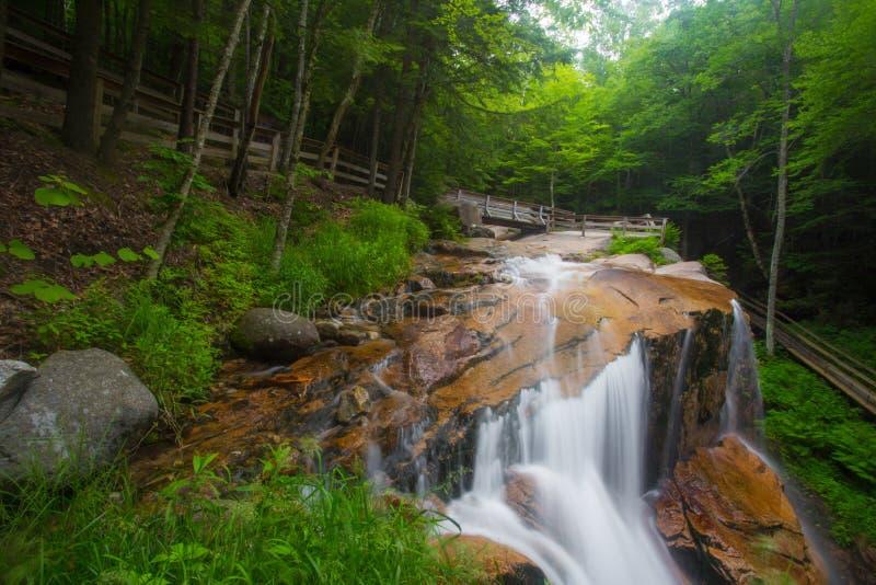 De Watervallen NH van de Franconiainkeping royalty-vrije stock foto's