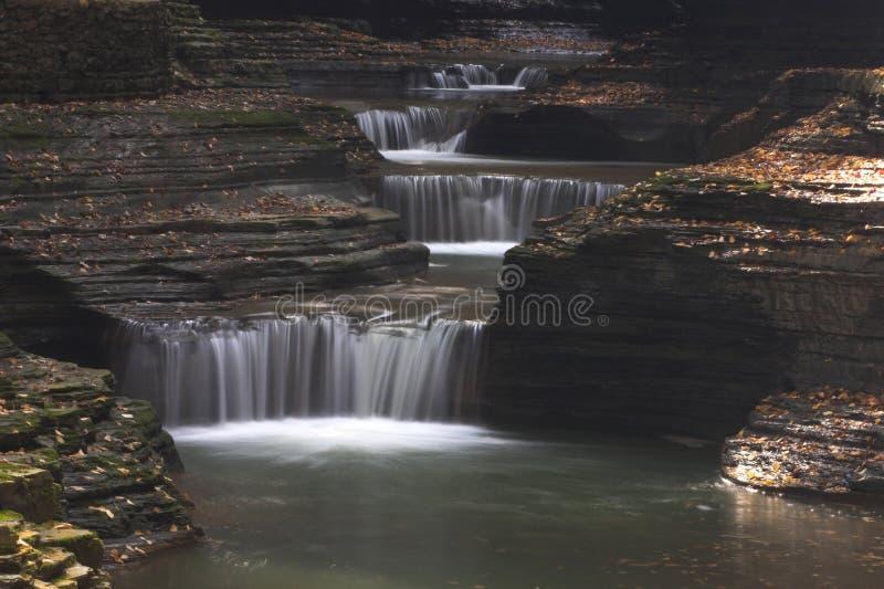 De Watervallen van de kloof royalty-vrije stock foto