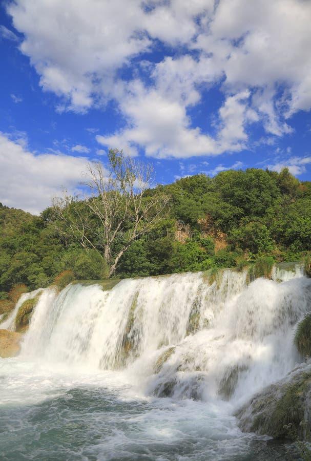 De watervallen van Krka royalty-vrije stock foto