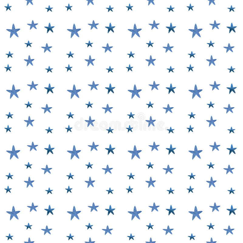 De waterverf speelt patroon mee vector illustratie