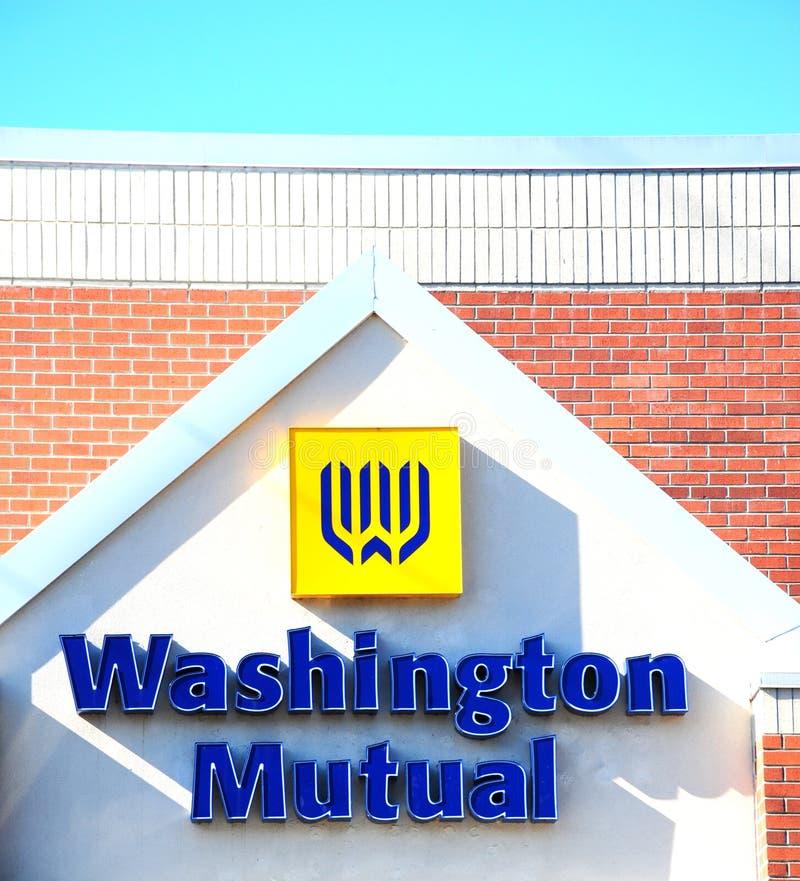 De Wederzijdse Bank van Washington royalty-vrije stock afbeeldingen