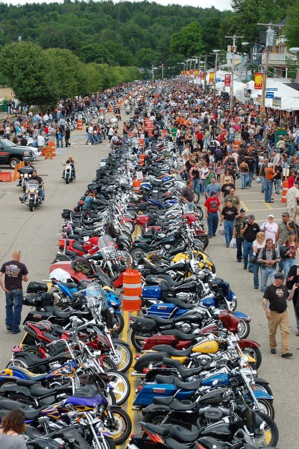 De Week 2009 van de Motorfiets van Laconia stock afbeelding