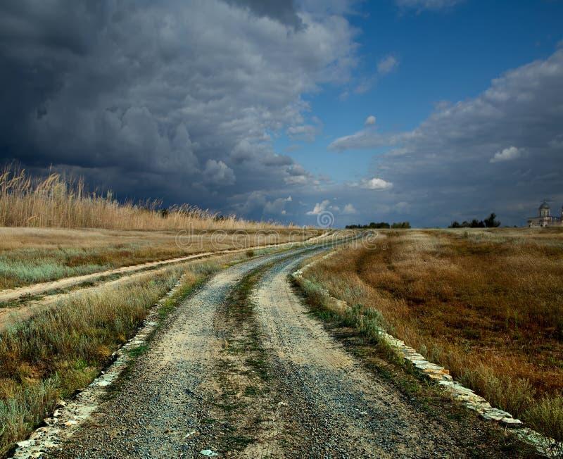 De weg stock foto