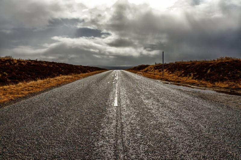 De weg stock afbeelding