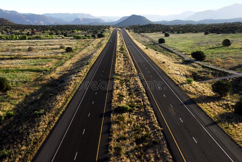 De Weg van Arizona stock afbeeldingen