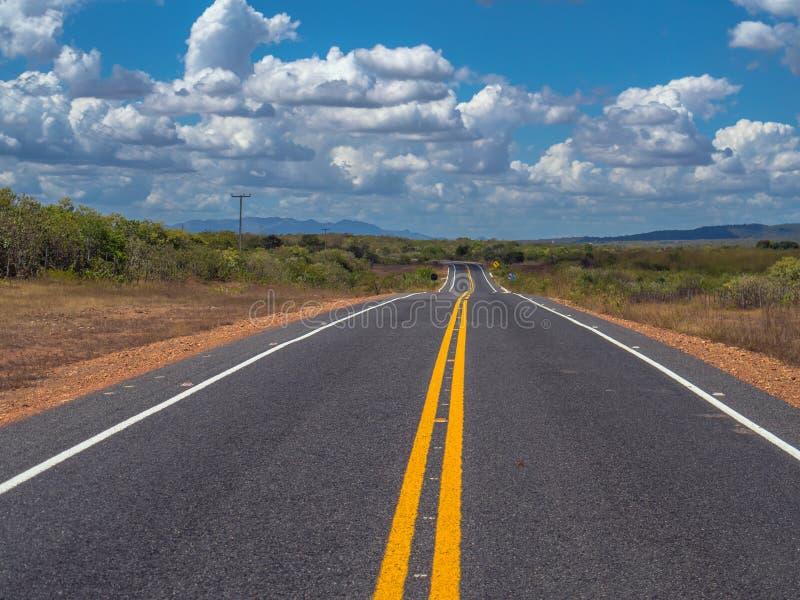 De Weg van Brazilië stock afbeelding