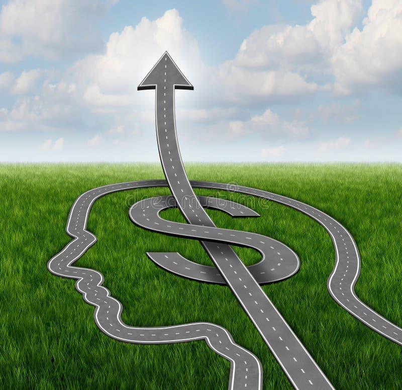 De Weg van de financiëngroei vector illustratie