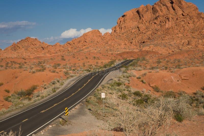 De Weg van het zuidwesten royalty-vrije stock afbeeldingen