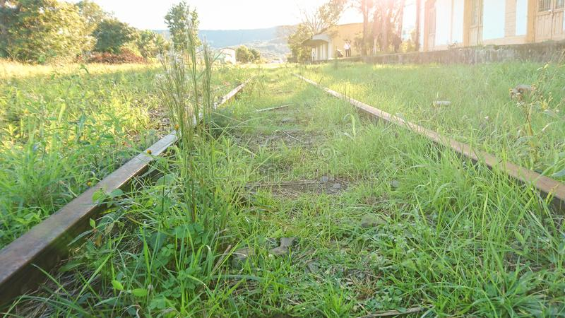 De weg van locomotieven 03 royalty-vrije stock foto
