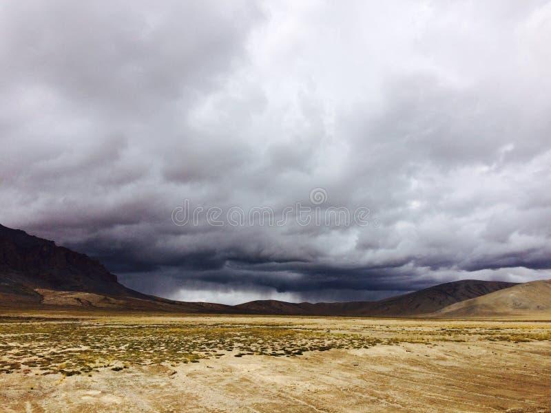 De Weg van Manaliladakh stock foto