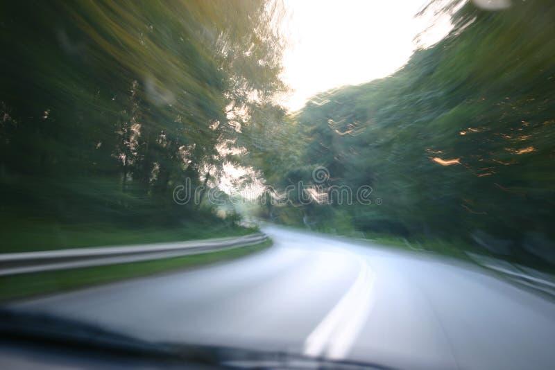 De weg van Sppedy royalty-vrije stock foto