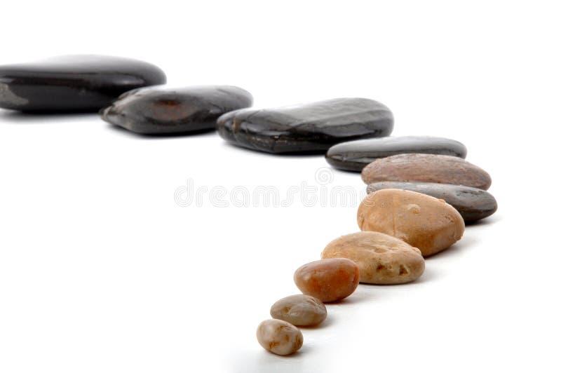 De weg van Zen stock foto