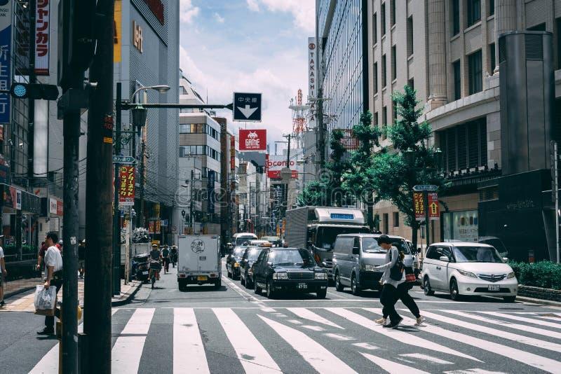 De wegen van Japan kruising stock afbeeldingen