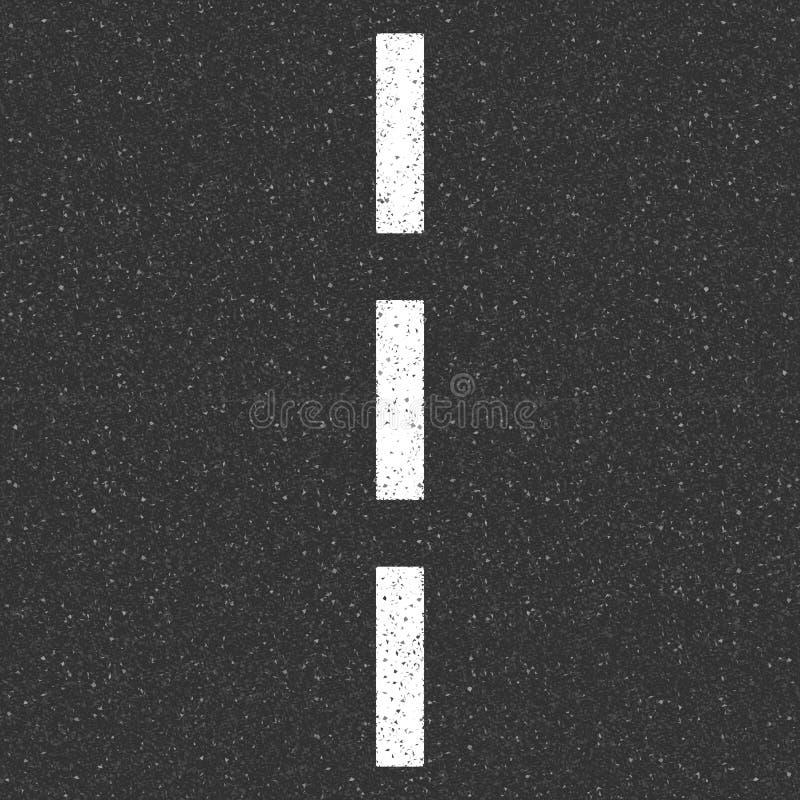 De wegtextuur van het asfalt royalty-vrije illustratie