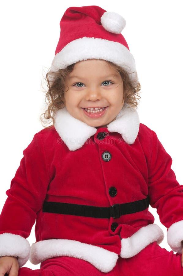De weinig Kerstman stock foto's