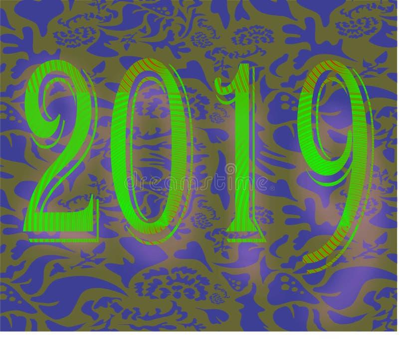 de wensen van 2019 stock afbeelding