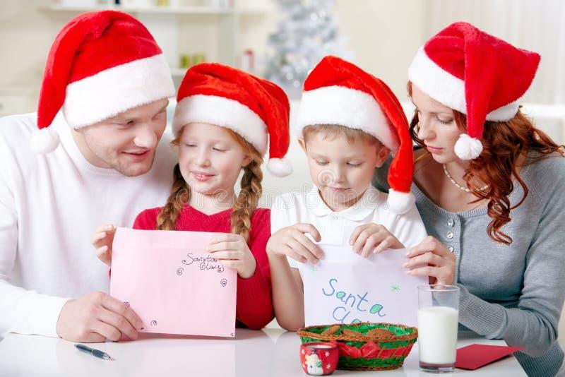 De wensen van Kerstmis stock foto's