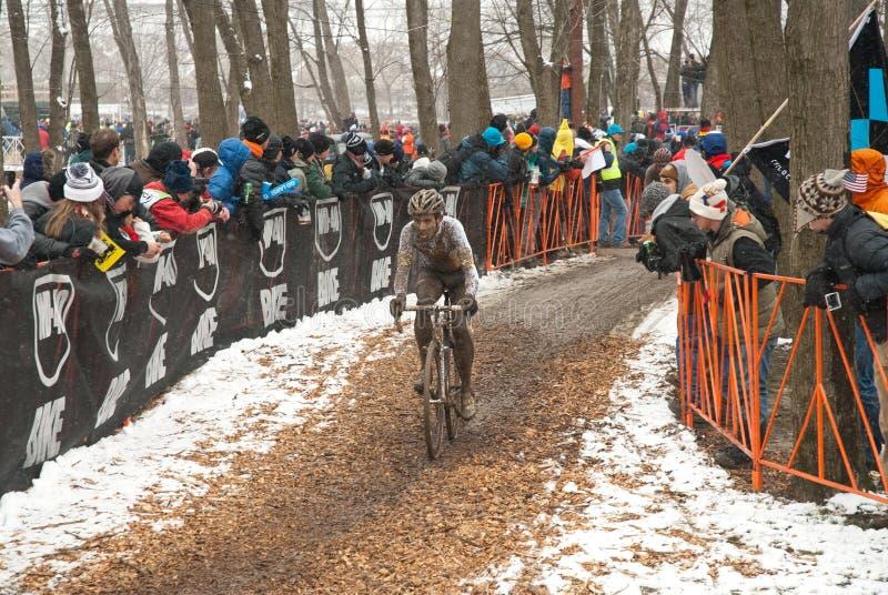 De Wereld Championshps van Cyclocross stock foto's