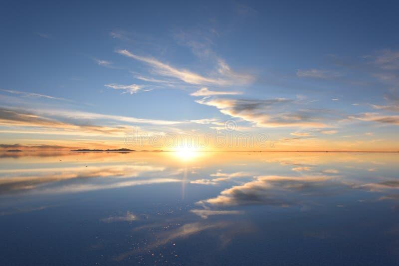 De wereld` s grootste zoute vlakte, Salar de Uyuni royalty-vrije stock afbeelding