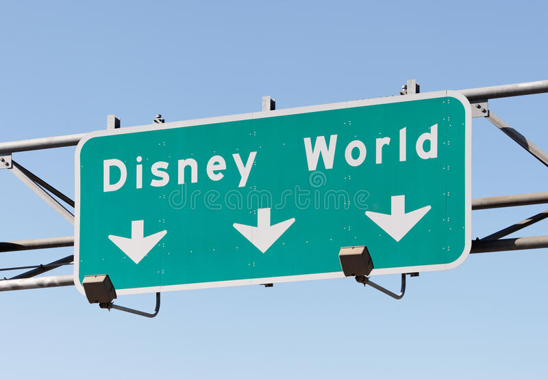 De Wereld van Disney royalty-vrije stock foto